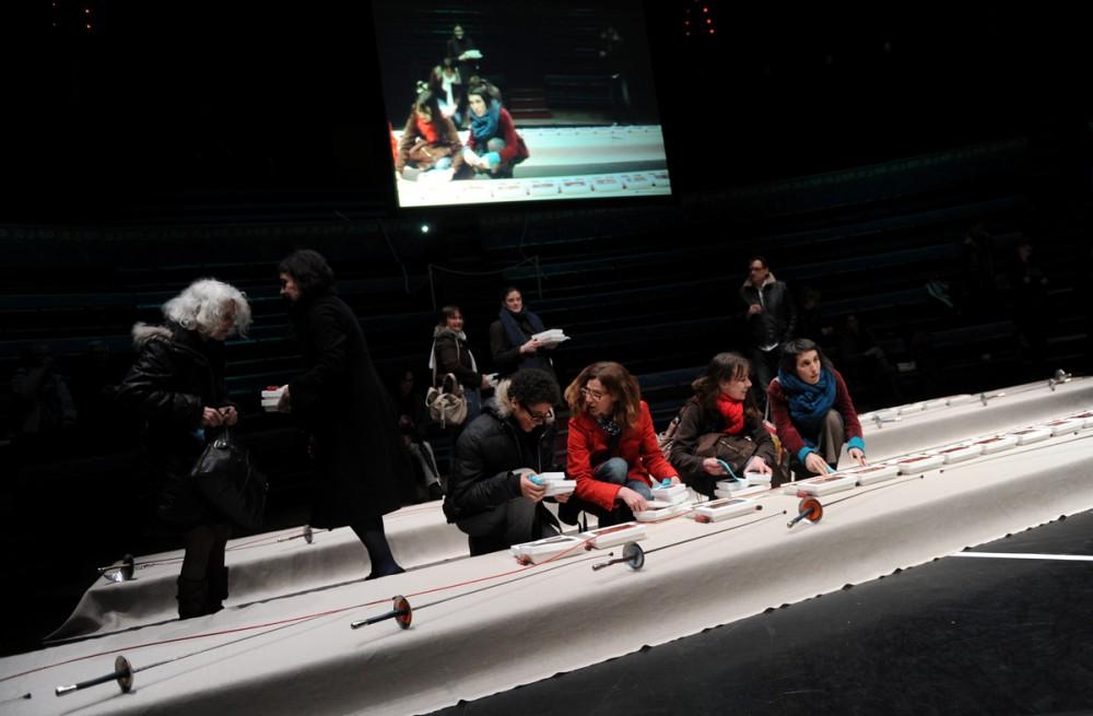 ATELIERS Grand Soir Mylène Benoit à Reims 2013 © Alain Julien